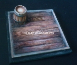 50mm square base,wood