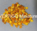 1/72 Chestnuts leaves - dry  200 pcs