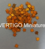 1/56 Maple leaves - dry  200pcs