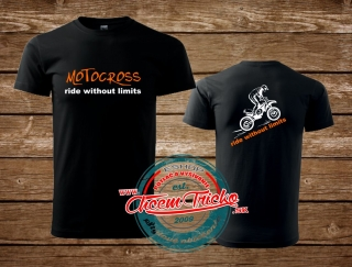 Tričko Motocross - Ride without limits