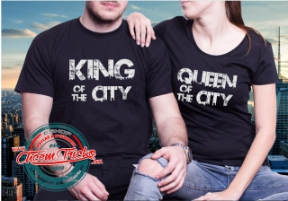 Tričká King and Queen of the City