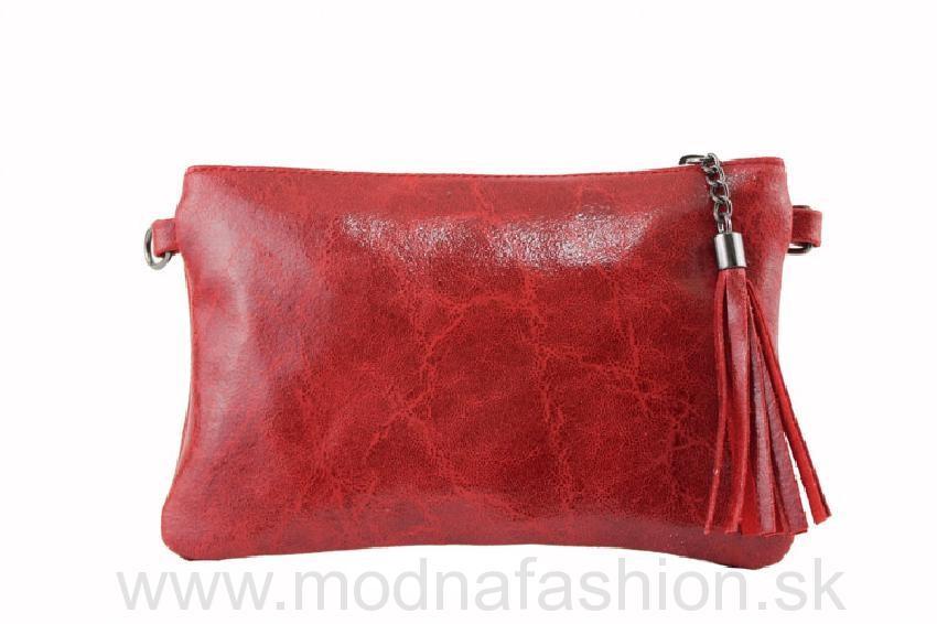 877831543c8 Kožená kabelka 750 červená
