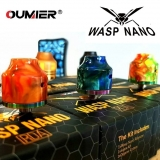 OUMIER WASP NANO BF RDA - RED/ORANGE RESIN