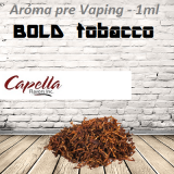 1ml Capella Concentrate - BOLD TOBACCO