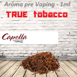 1ml Capella Concentrate - TRUE TOBACCO