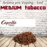 1ml Capella Concentrate - MEDIUM TOBACCO