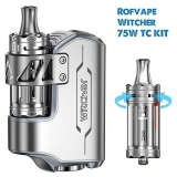 ROFVAPE WITCHER TC 75W Box Mod + WITCHER TANK  - GREY FULL KIT