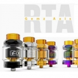 GEMZ AXIS RTA ATOMIZER - GOLD EDITION