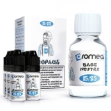 100ml AROMEA BASE TPD PACK 15/85 - 9mg (55ml baza + 45ml Booster)