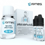 100ml AROMEA BASE TPD PACK 100%PG - 12mg (40ml baza + 60ml Booster)