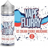 50/60ml VAPE FLURRY - ICE CREAM COOKIE (OREO)