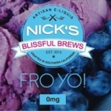 50/60ml NICKS BLISSFUL - FRO YO