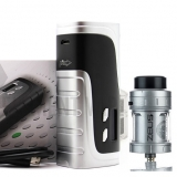 PIONEER4YOU IPV 400 200W BOX MOD + ZEUS RTA TANK - SILVER EDITION