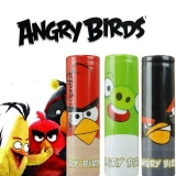 Battery WRAP Skin - ANGRY BIRDS - BLACK EDITION