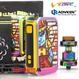 VZONE GRAFFITI 220W MOD + MANTA RTA -  RAINBOW EDITION