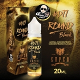 20/60ml - SUPER FLAVOR - ROUND BLACK ( TOBACCO )