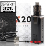 AUGVAPE VX200 KIT 200W TC/VW/VV/BYPASS - BLACK EDITION