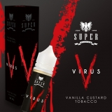 50/60ml SUPER FLAVOR - VIRUS ( Tobacco vanilla custard )