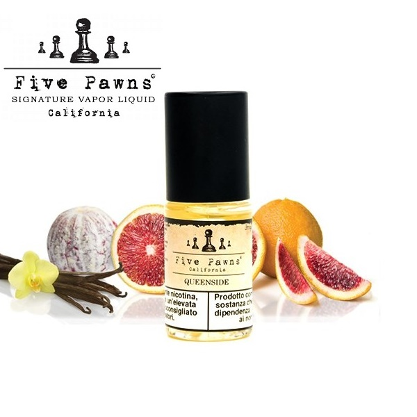 10ml FIVE PAWNS - QUEENSIDE 6mg