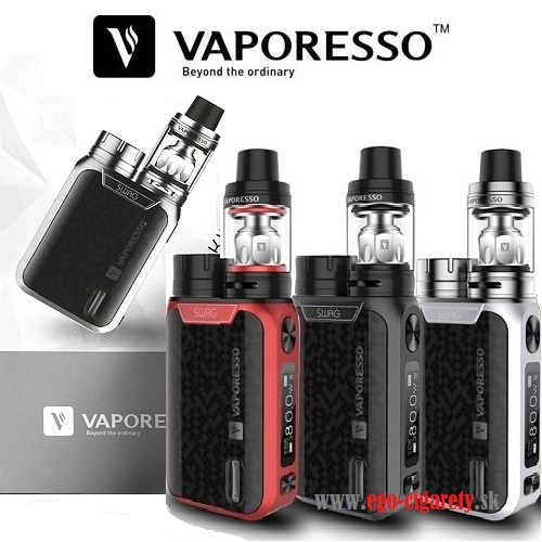 VAPORESSO SWAG TC KIT + NRG SE TANK - BLACK EDITION