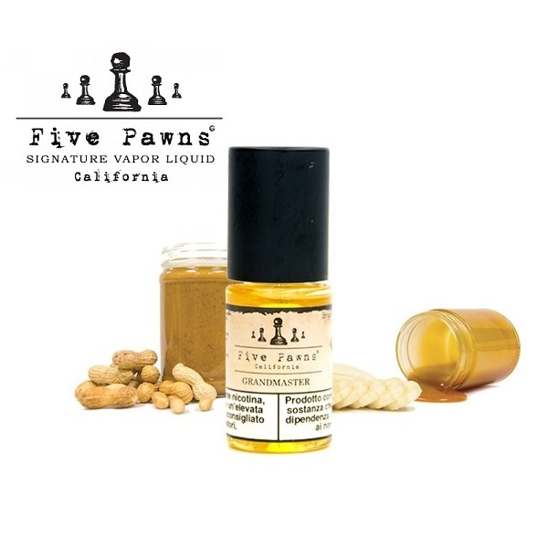 10ml FIVE PAWNS - GRANDMASTER 3mg (EXP:29.5.2019)