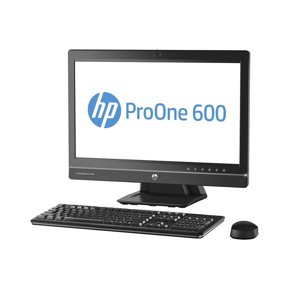 HP ProOne 600 G1 AiO; Core i3 4130 3.4GHz/4GB DDR3/128GB mSATA + 500GB HDD