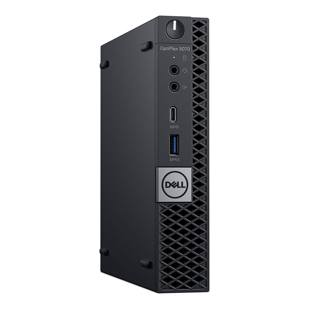 Dell Optiplex 5070 micro; Core i7 9700T 2.0GHz/8GB RAM/256GB SSD PCIe + 500GB HDD