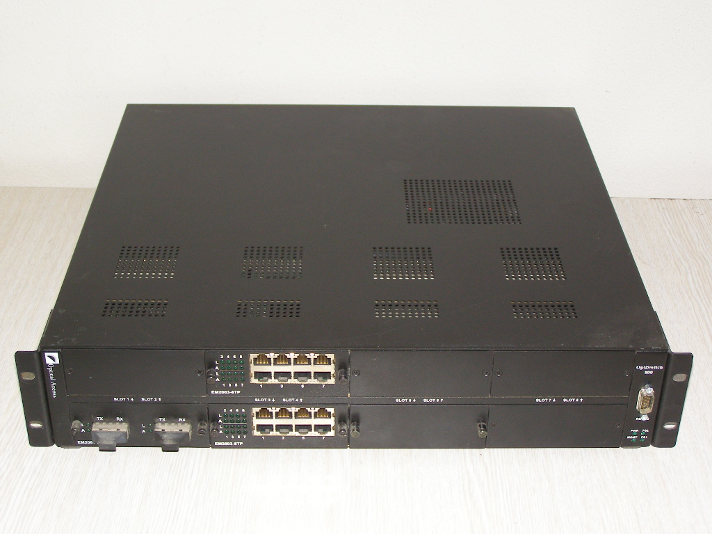 OptiSwitch-800, 8-slot 10/100/1000                      P/N NH2064