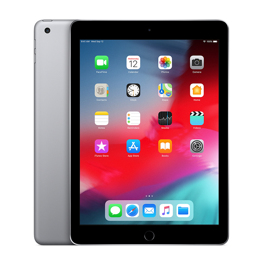 Apple iPad 6th Gen Wi-Fi Space Gray; 32GB