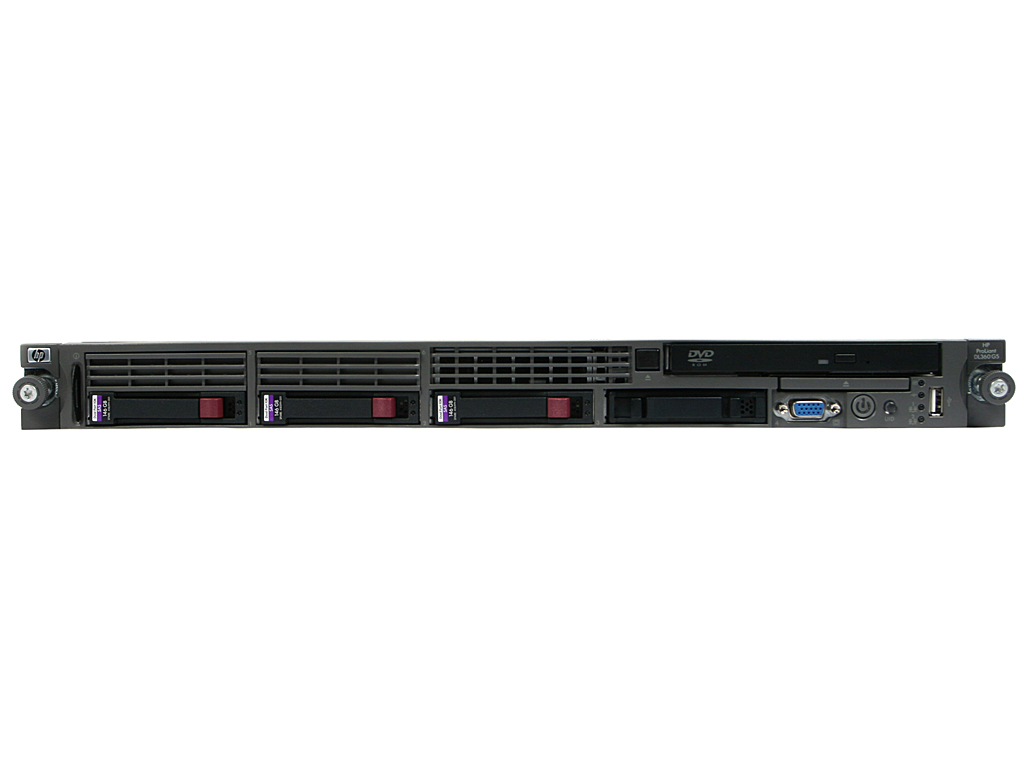 HP Proliant DL360 G5; Intel Xeon E5440 2.83GHz/8GB DDR2 ECC 5300F(8x1GB)