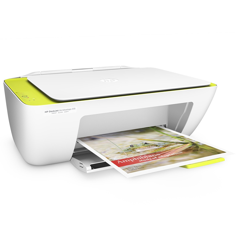 HP DeskJet Ink Advantage 2135 All-in-One PrinterPrint, Scan & Copy