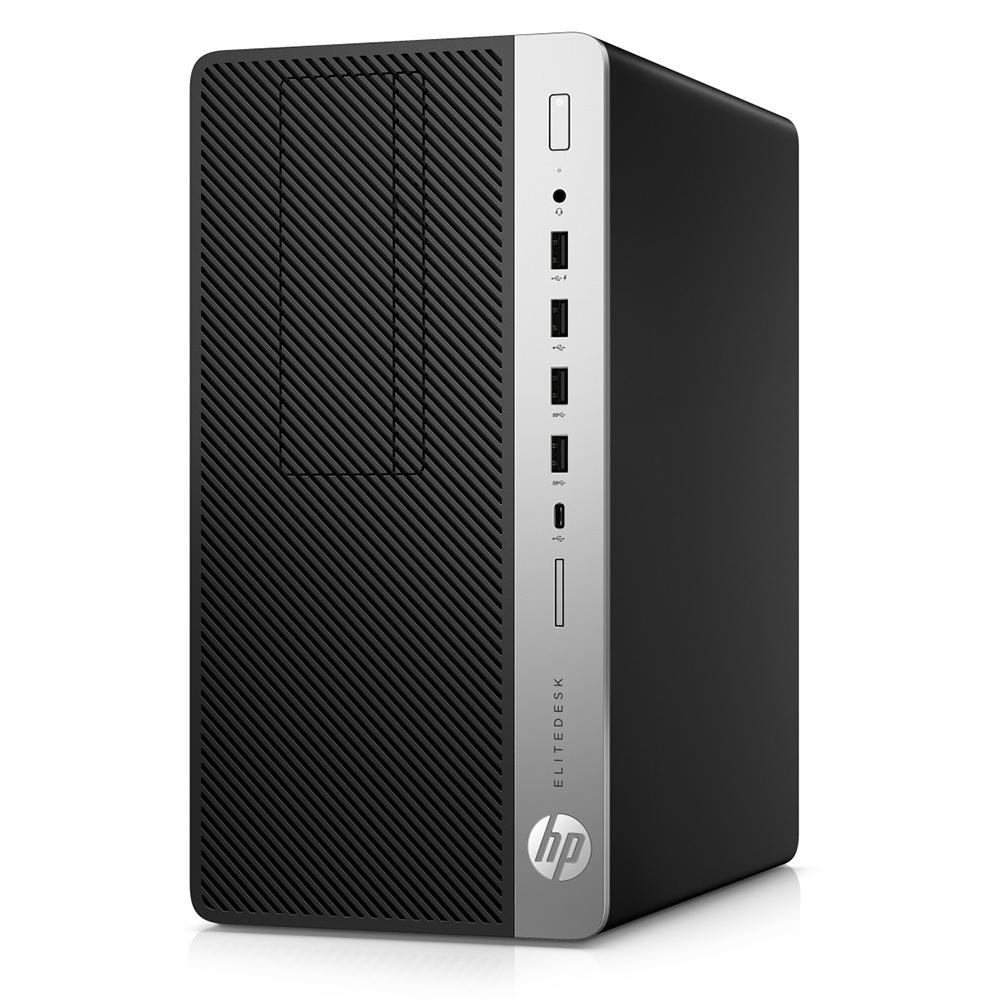 HP EliteDesk 705 G4 MT; AMD A10-9700 3.5GHz/4GB DDR4/128GB SSD PCIe/HP Remarketed