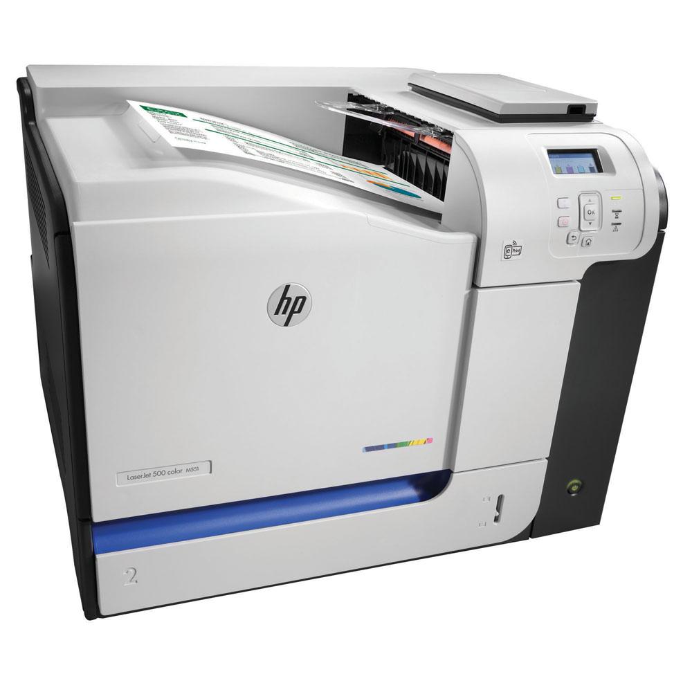 HP LaserJet Enterprise 500 color M551N; - 1024MB