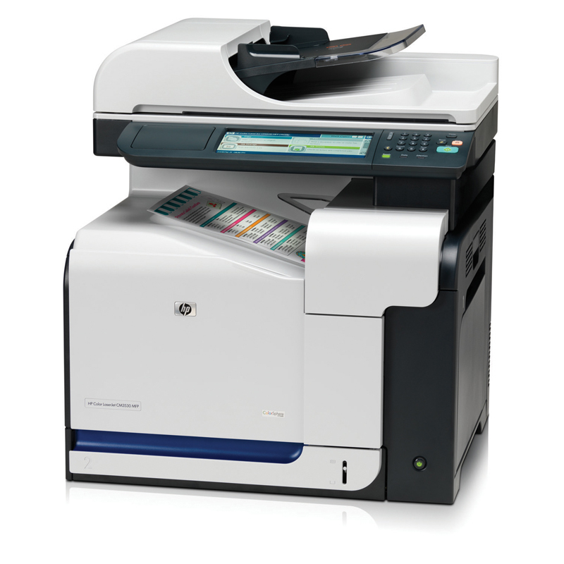 HP ColorLaserJet CM3530 MFP; - 512MB