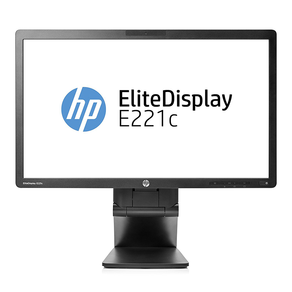 "LCD HP EliteDisplay 22"" E221c; black, A-"