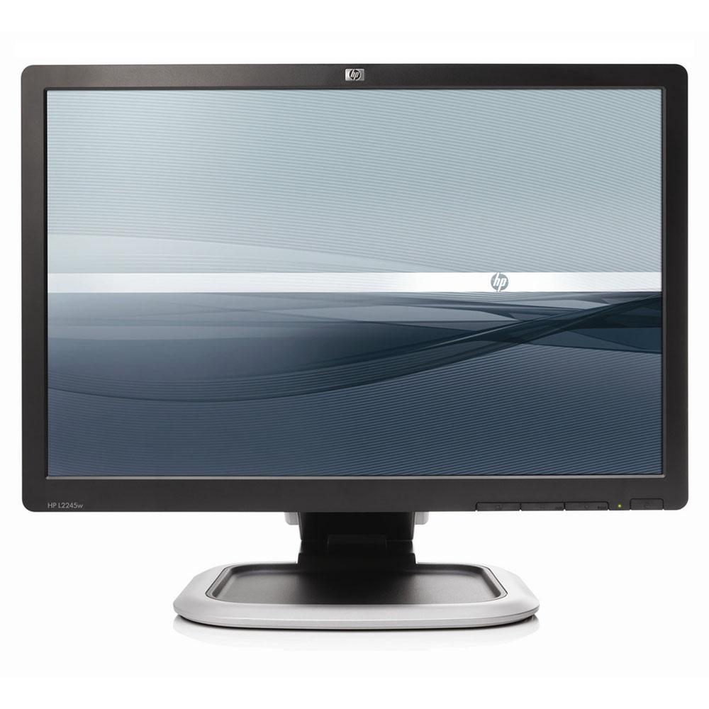 """LCD HP 22"""" L2245W; black/silver, A-"""