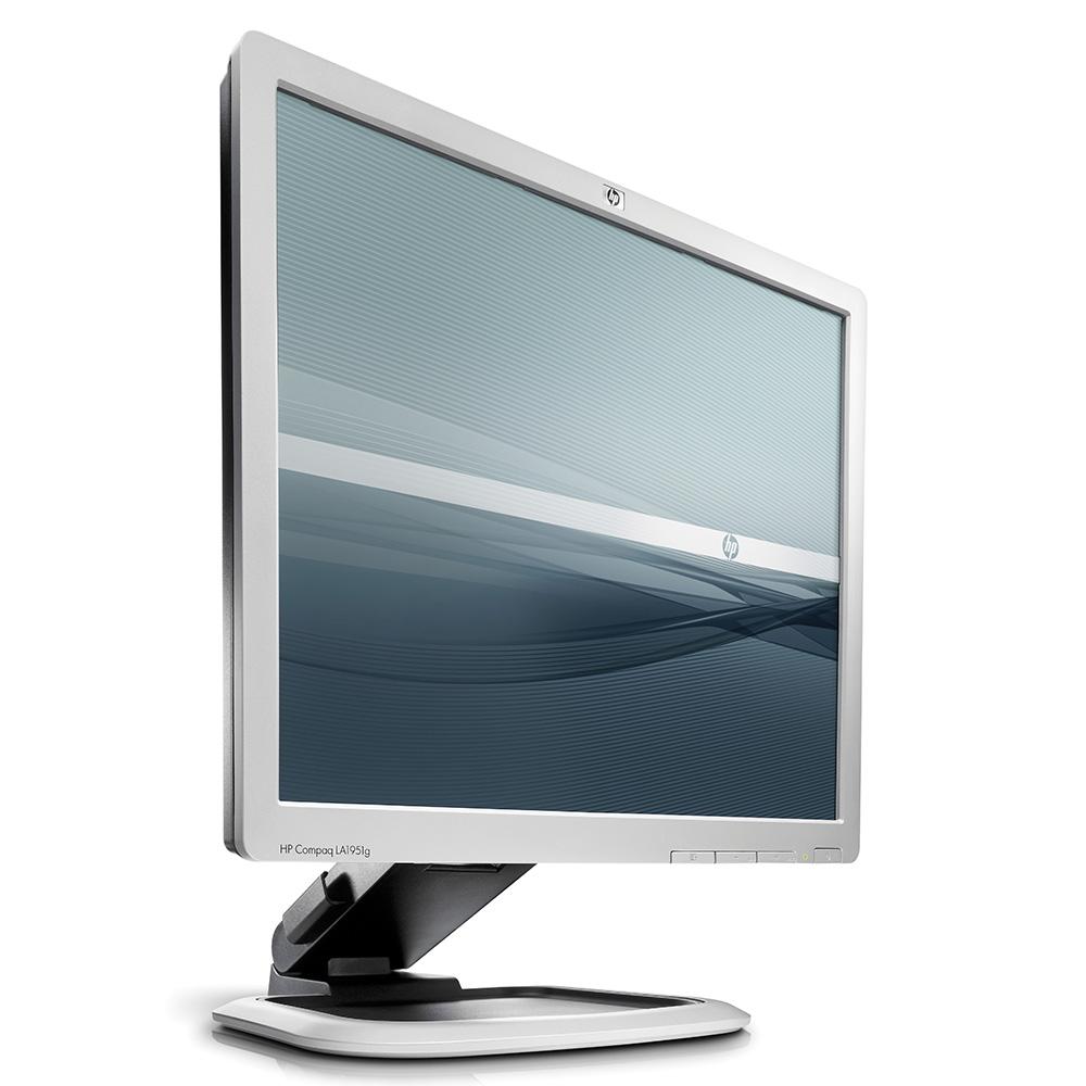 """LCD HP 19"""" LA1951G; black/silver, A-"""