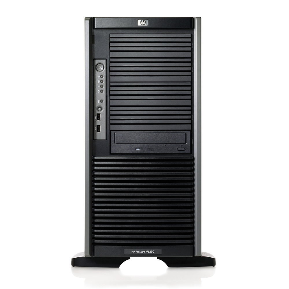 HP Proliant ML350 G5; 2x Intel Xeon E5420 2.5GHz/24GB DDR2 ECC 5300F(6x4GB)