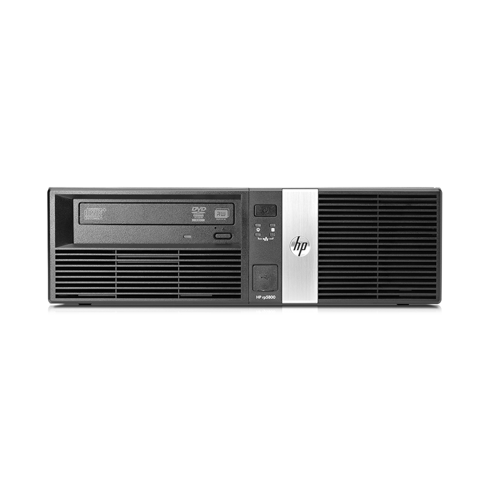 HP RP5800 SFF; Core i3 2120 3.3GHz/4GB DDR3/500GB HDD
