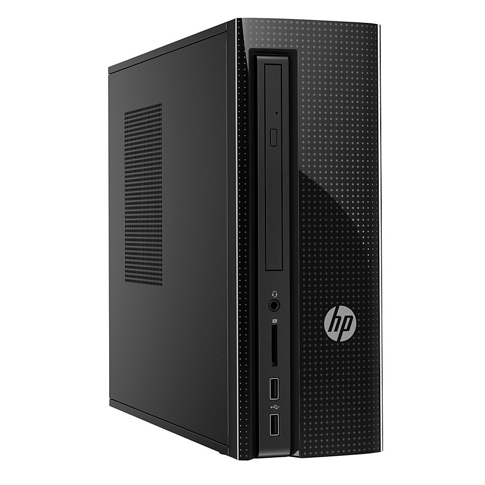 HP Slimline 260-a102no; Celeron J3060 1.6GHz/4GB DDR3/1TB HDD/HP Remarketed