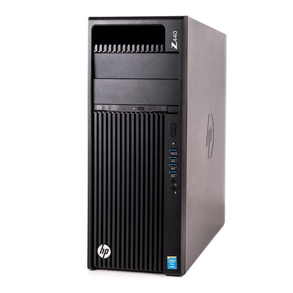 HP Z440 WorkStation; Intel Xeon E5-1650 v4 3.6GHz/32GB DDR4 ECC/256GB SSD + 1TB HDD