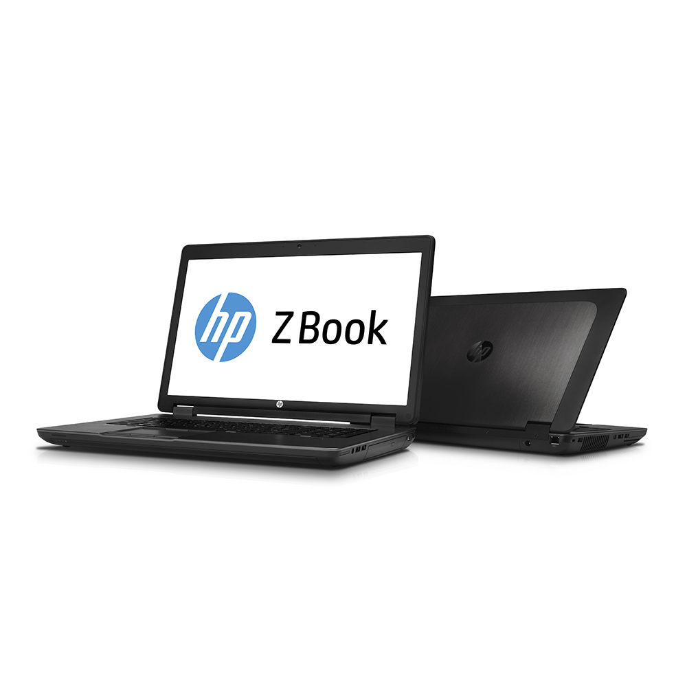 HP ZBook 17 G2; Core i7 4810MQ 2.8GHz/16GB RAM/256GB SSD + 1TB HDD/backlit kb/battery VD