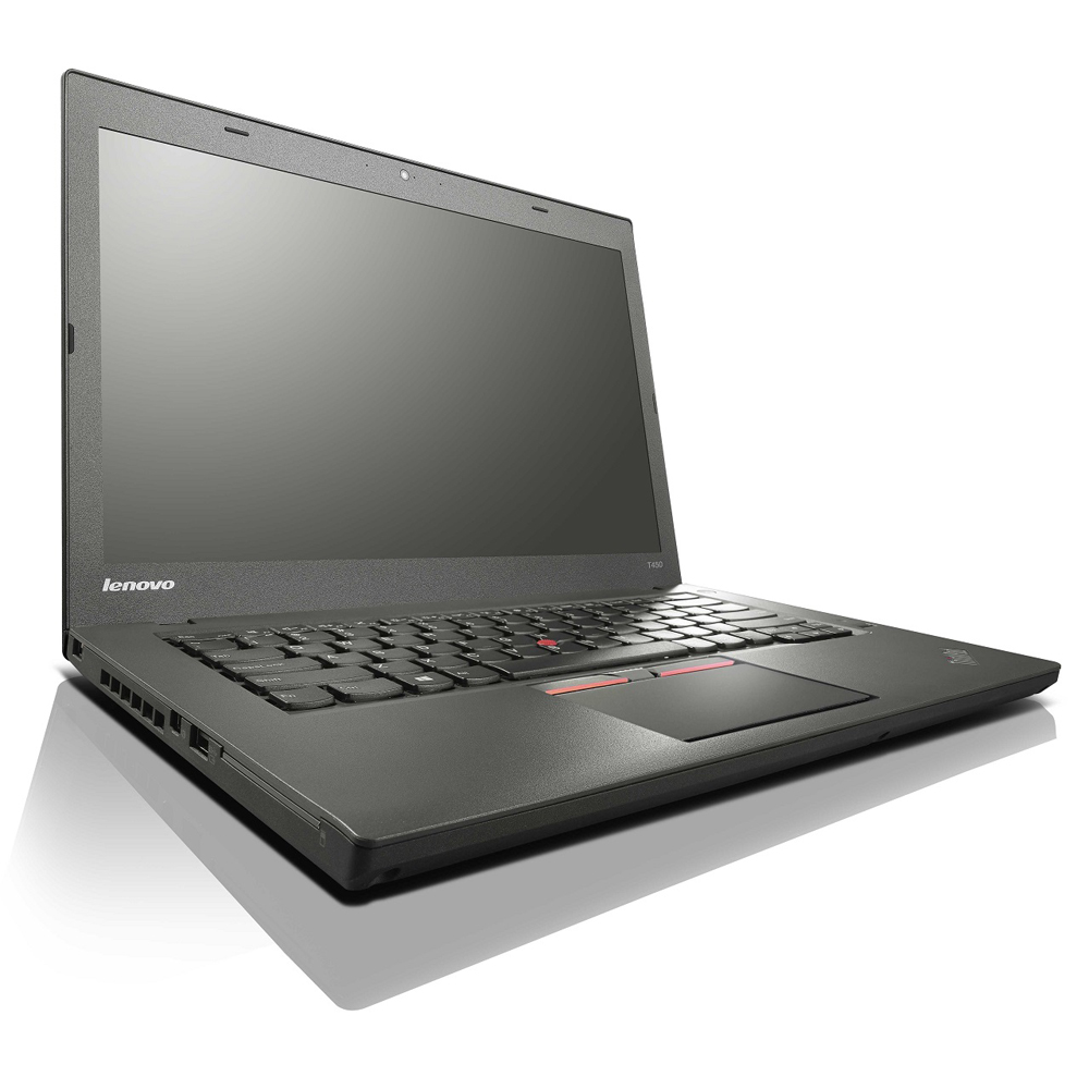 Lenovo ThinkPad T450; Core i5 5300U 2.3GHz/4GB RAM/128GB SSD/battery VD