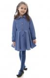 dievčenský jarný kabát POLLY svetlomodrý fa4e8e04f4b