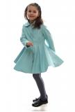 1ca0d45abfaf dievčenský jarný kabát POLLY mätový