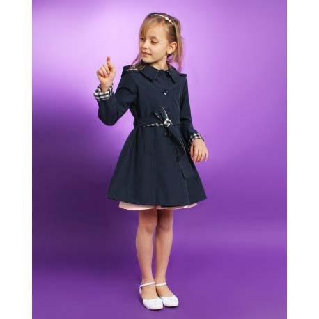 182ce592ec88 dievčenský jarný kabát s kapucňou MARYSIA béžový