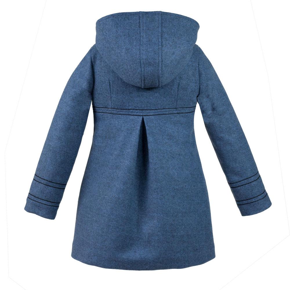 dievčenský zimný kabát PEGGY modrý dievčenský zimný kabát PEGGY modrý empty 126773cf10c