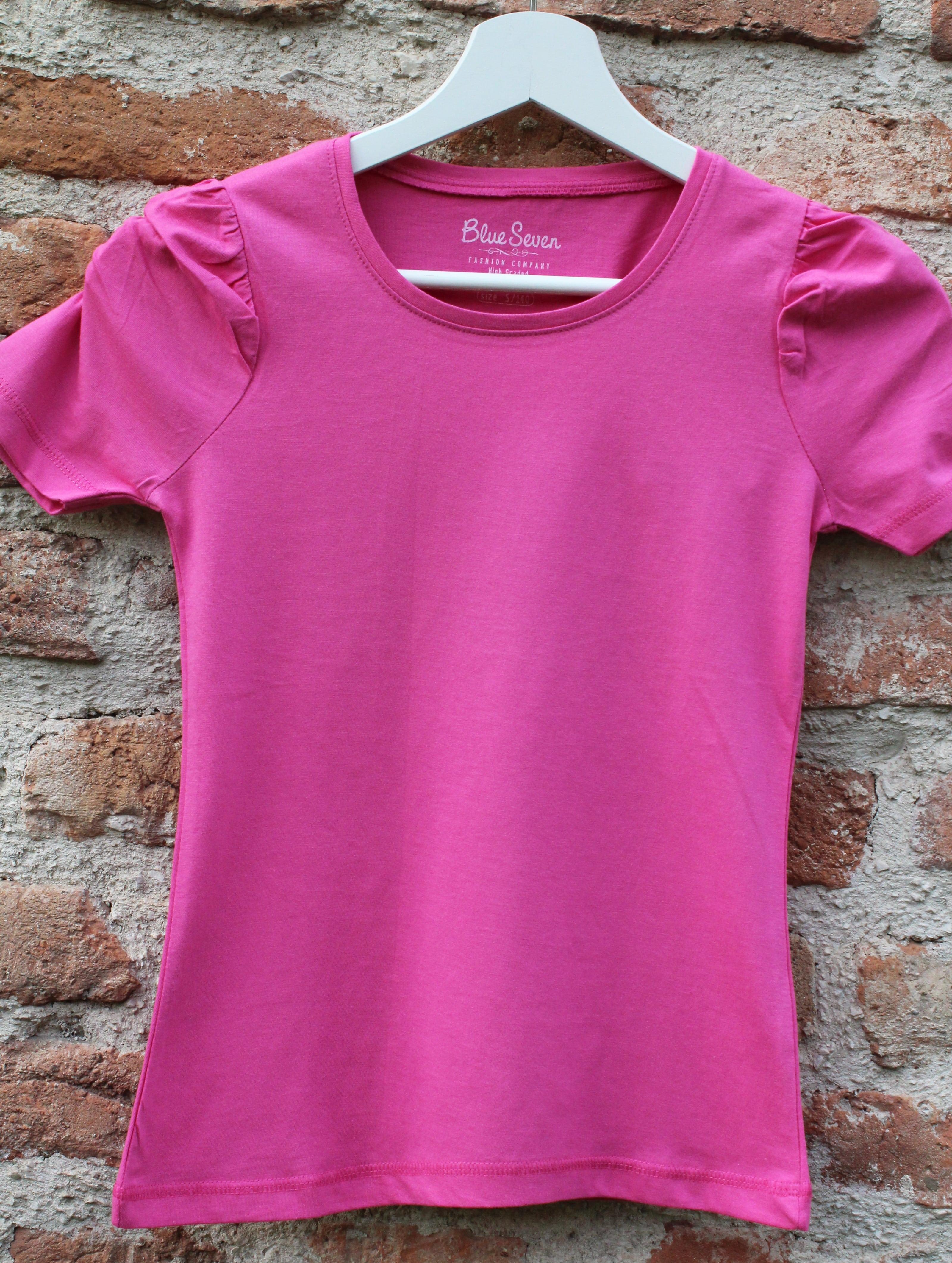 33f81e3ca7edc dievčenské tričko BLUE SEVEN ružové