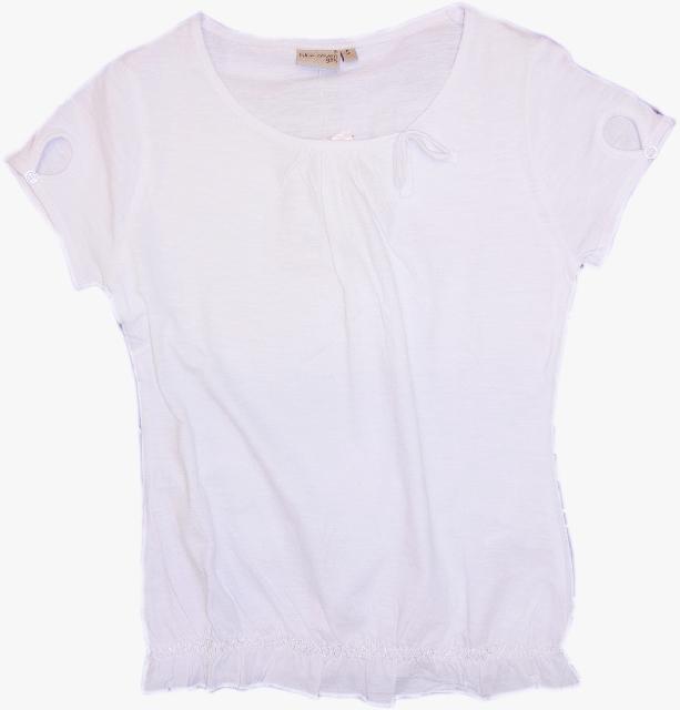 d0f4f3291465 dievčenské tričko BLUE SEVEN biele