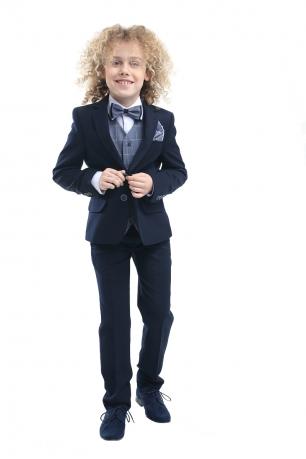 8fe8289a74c5 chlapčenský oblek PEDRO s vestou